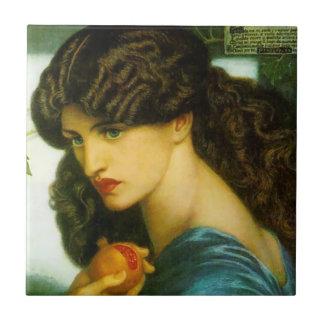 Proserpine by Rossetti Pre-Raphaelite Ceramic Tile
