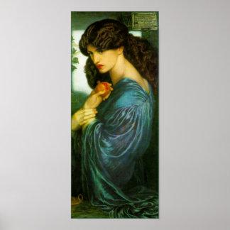 Proserpine Poster by Dante Gabriel Rossetti