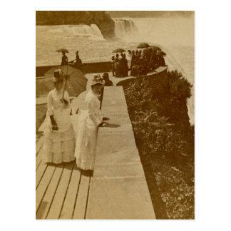 Prospect Point Niagra Falls Vintage Stereoview Postcard