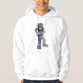 Prospector Winking Hooded Sweatshirt