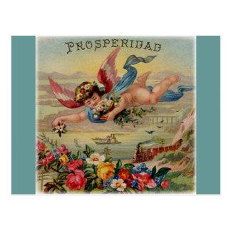 Prosperity Angel (prosperidad) postcard