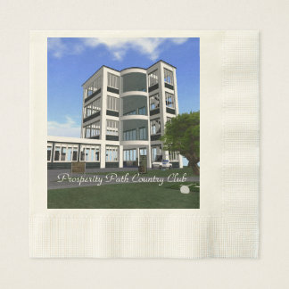 Prosperity Path Country Club Disposable Serviettes