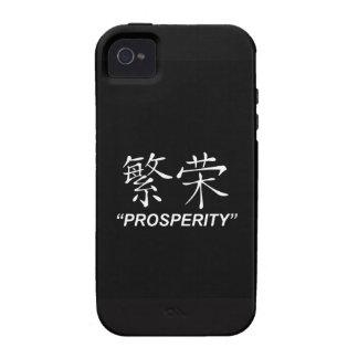 """Prosperity"" Symbol Apple product cases iPhone 4 Cases"