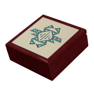 Prosperity Wood Gift Box w/ Tile