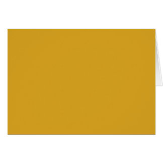 Prosperously Golden Gold Color Card