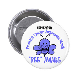 Prostate Cancer Awareness Month Bee 1 2 Buttons