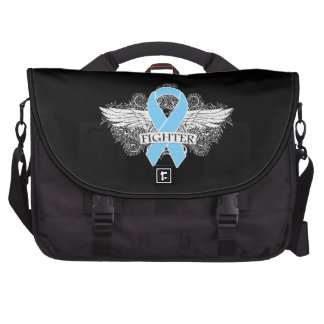 Prostate Cancer Fighter Wings Laptop Computer Bag