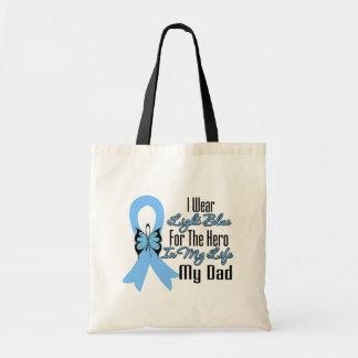Prostate Cancer Ribbon Hero My Dad Tote Bag