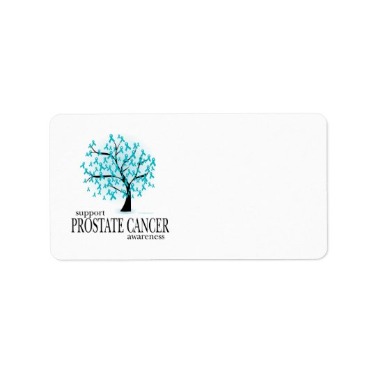 Prostate Cancer Tree Address Label