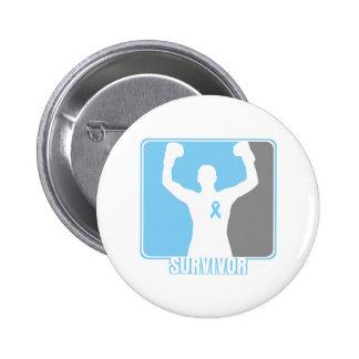 Prostate Cancer Winning Survivor 6 Cm Round Badge