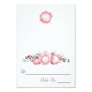 Protea Fantasy Floral Escort Card
