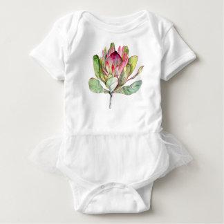 Protea Flower Baby Bodysuit