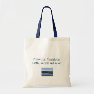 Protect and Cherish the Earth Tote Bag