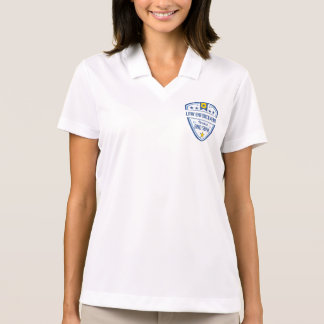 Protect and Serve Police Badge Polos