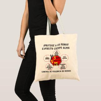 Protect Children! Spirit Body Soul Esp Tote Bag