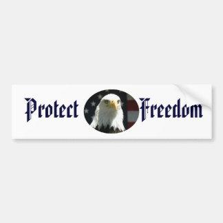 Protect Freedom Bumper Sticker