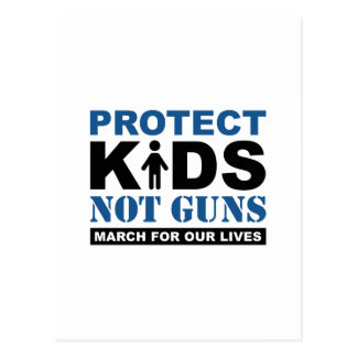Protect Kids Not Guns Postcard