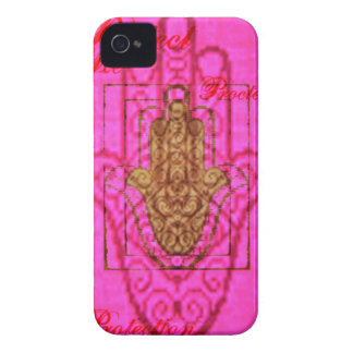 Protect me Iphone case in hot pink
