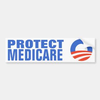 Protect Medicare Obama 2012 Bumper Sticker