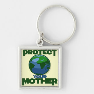 Protect Mother Earth for Earth Day Keychains