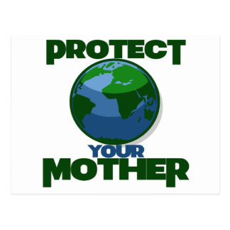 Protect Mother Earth for Earth Day Postcard