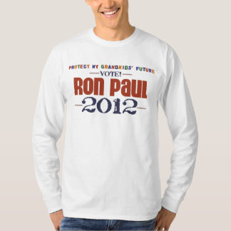 Protect My Grandkids' Future Vote Ron Paul 2012 T-Shirt