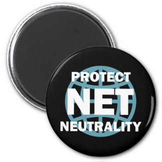 Protect Net Neutrality 6 Cm Round Magnet