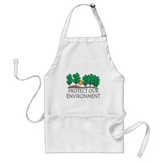Protect Our Environment Standard Apron