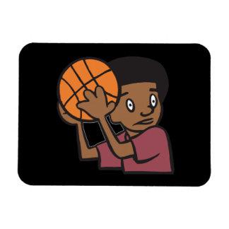 Protect The Ball Rectangular Photo Magnet