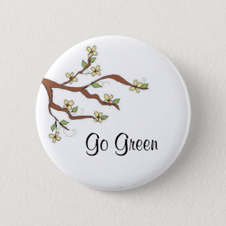 Protect the Environment 6 Cm Round Badge