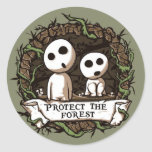 Protect the Forest! Round Sticker