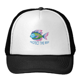 PROTECT THE REEF TRUCKER HAT