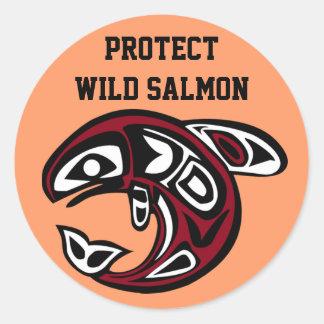 Protect Wild Salmon sticker