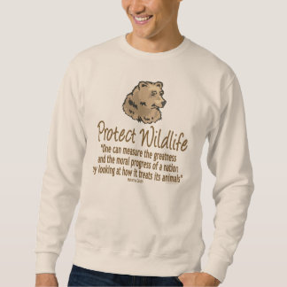 Protect Wildlife, Ursus, Bears Sweatshirt