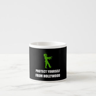 Protect Yourself From Hollywood Espresso Mug