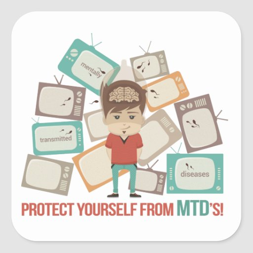 Protect Yourself from MTD's! Stickers