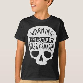Protected By A Biker Grandpa T-Shirt