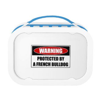Protected By A French Bulldog Lunch Box