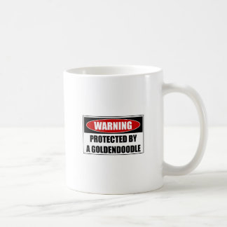 Protected By A Goldendoodle Coffee Mug