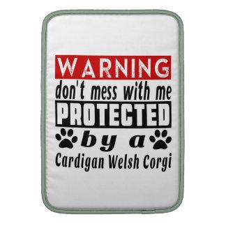 Protected By Cardigan Welsh Corgi MacBook Air Sleeve