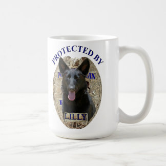 Protected By Lilly Coffee Mug