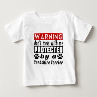Protected By Yorkshire Terrier T-shirts