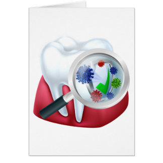 Protected Tooth and Gum Concept Card