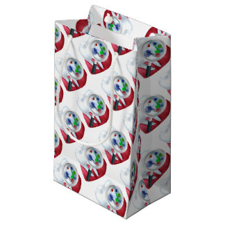 Protected Tooth and Gum Concept Small Gift Bag