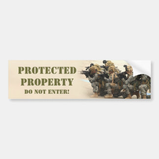 ProtectedProperty bumper sticker
