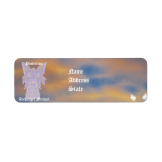 Protection Archangel Michael-Customize Return Address Label