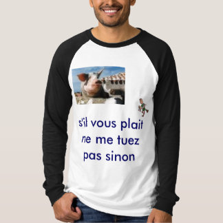 protection des cochons shirts