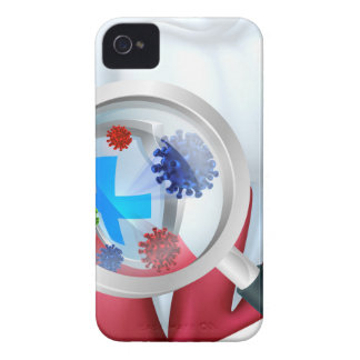 Protection Tooth Shield iPhone 4 Case-Mate Case