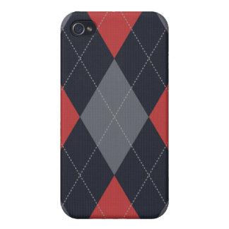 Protective Argyle Iphone 4 Case