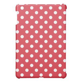 Protective iPad Mini Case - Poppy Red Polka Dot